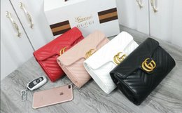 Genuine Leather Handbag Cowhide Shoulder Bag Australia - Designer Handbags high quality Luxury Handbags Famous Brands handbag women bags Real Original Cowhide Genuine Leather chain Shoulder Bags 80