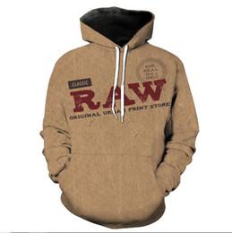 Vintage style hoodies online shopping - Classic Stylist Style RAW men s D Digital printing Vintage hoodies High Street Hip Hop Punk Style Gothic sweatshirt