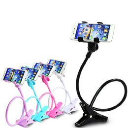 Black White Rose Bedding Australia - 360 Rotating Flexible Long Arms Mobile Phone Holder Desktop Bed Lazy Bracket Mobile Stand Support For iPhone IPad Samsung Redmi