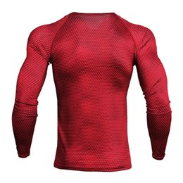 2847d3566b5d2 Fashion Fashion Men s Tight-fitting Training PRO Sports Fitness Running Long -sleeved Sweat-proof Fast-drying T-shirt Clothes