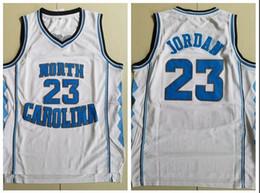 0265e082928 NCAA North Carolina 23 Michael White Embroidered Basketball Jersey S-XXL