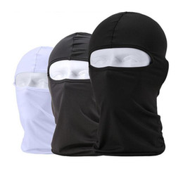 Discount full face ninja mask 2017 Balaclava Mask Windproof Cotton Full Face Neck Guard Masks Ninja Headgear Hat Riding Hiking Outdoor Sports Cycling