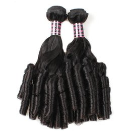 dyeing hair black NZ - 01Up and down the canister 100g pcs 2019 latest female curly hair, 100 % absolute human hair, black curly hair curtain