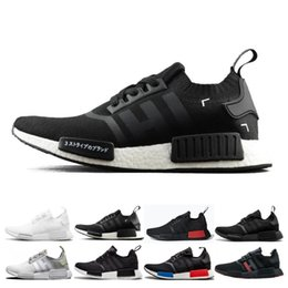 8d8f9f857f4b9 2019 NMD R1 OREO Runner NBHD Primeknit OG Triple black White camo Running  shoes For Men Women beige Runner Sports Shoe Eur 36-45