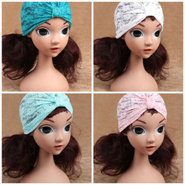 Star Skull Cap NZ - Baotou Sleeve Cap India Skull Caps Five Stars Sequins Lace Plum Blossom Beanie Children Fashion Spring And Summer Hats 5ys C1