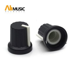 black guitar volume knobs Australia - Black Guitar Pot and Amplifier Knobs AMP Volume Tone Control Speed Knobs for Guitar Bass