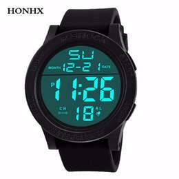 $enCountryForm.capitalKeyWord Australia - HONHX Fashion Waterproof Men's Watch Digital Stopwatch Date Rubber Sport Men Wrist Watch LED electronic Mens Clock Relogio Y25