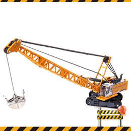 $enCountryForm.capitalKeyWord Australia - KDW Alloy Truck Model Toys, Engineering Vehicle, Tower Cable Excavator, High Simulation for Party Kid' Birthday Gift, Collecting, Decoration
