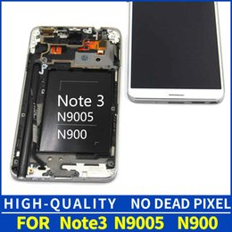 $enCountryForm.capitalKeyWord Australia - LCDS For samsung Note 3 N9005 note3 n900 n9000 LCD Display + Touch Screen Digitizer Assembly with frame with gift Free Shipping Ypf27-39