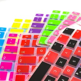 Books Spanish Australia - Keyboard Cover Silicone Spanish 7Pcs Lot For Macbook Air Pro 13 15 17 Protector Keyboard Spanish Spain Eu For Mac Book