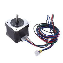 printer lead NZ - Nema 17 Stepper Stepping Motor Drive Control 2 Phase 1.8 Degree 0.9A with Lead Cable for 3D Printer CNC motor Replacement