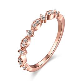 Jewelry Mosaic Sets Australia - Individuality Band Rings Circle Pattern Prong Setting Mosaic Zircon Double Layer Ring Romantic Elegant Sweet Designed Jewelry Gift POTALA005