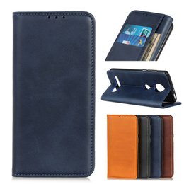 Power case for samsung note online shopping - Cowhide Wallet Case for Moto E6 E5 P40 play G7 Power G6 Plus Leather Flip Cover Case for Moto ONE PRO P30 note Z4 Z3 Play SL0