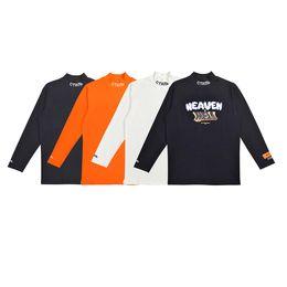 3fa975084c49 Heron Preston Mens Designer T Shirts Men Women Street Luxury Designer Shirt  Heron Preston Crane Print Short Sleeve Polo