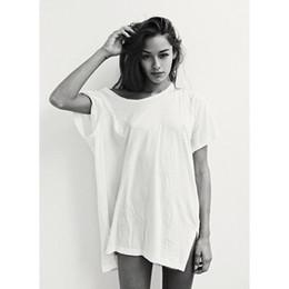 $enCountryForm.capitalKeyWord Australia - Baggy Long T Shirt Women Summer Tumblr Harajuku Vegan Grunge Sexy Vintage Punk Feminist Oversized White Cotton Tops Plus Size Y19060601
