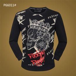 Dancing sweaters online shopping - 2019 New fashion Luxurys brand winter Hoodies Dress Hoodies Knitting Sweater O Neck Skulls Tap Dance black M XL