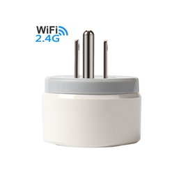 Smart Home Appliances Australia - US Plug Wifi Smart Adapter Plug Remote control Home Appliance Power ON OFF Outlet Timing Function Support Google IFTTT