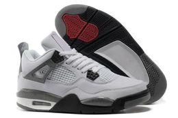 $enCountryForm.capitalKeyWord Australia - Bred 4 4s Mens Raptors Basketball Shoes 4s White Cement Black Cat Oreo 4 Superman Fashion Sneakers Sports Shoes