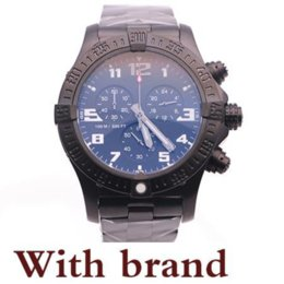 Dress Folding Australia - top store jason007 watches men BLACK DIAL full black watch avenger seawolf chrono quartz sports watch men dress watches