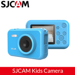 "full frame camera UK - SJCAM FunCam Kids Camera 2"" LCD 1080P Toddler Toy Camera Educational Digital Photography Camera Children's Brithday Gift"