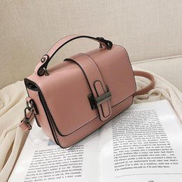 yellow purse bag Australia - Bag for Women 2020 Luxury Handbag Women Bags Designer Solid Leather Yellow White Pink Shoulder Bag Purse Sac A Main High QuVVG