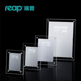 $enCountryForm.capitalKeyWord Australia - Reap Mills acrylic L-shape desk sign holder card display stand table menu photo frame for store home restruant