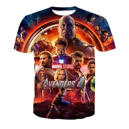 $enCountryForm.capitalKeyWord Australia - Avengers 4 3d Print t shirts Men Women Summer Tshirt Short Sleeved Marvel Movie Tees