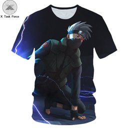 $enCountryForm.capitalKeyWord UK - Summer brand clothing men   women's T-shirt anime characters Naruto Sasuke 3D printing cartoon T-shirt tee shirt naruto anime