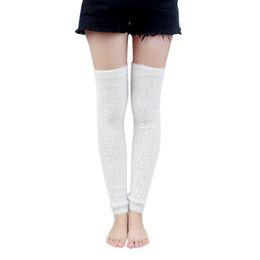 3d61ca392 Casual Women Winter Warm Leg Warmers Knitted Fur Scoks Boot Cuffs Crochet Long  Boots Socks Calentadores Mujer Polainas Trico 15