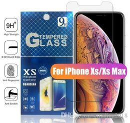 $enCountryForm.capitalKeyWord Australia - Hot sell Brand For NEW Iphone X XR XS MAX X 8 7 Plus Tempered glass Screen Protector Anti-fingerprint for Samsung S8 S7 Edge Paper Package