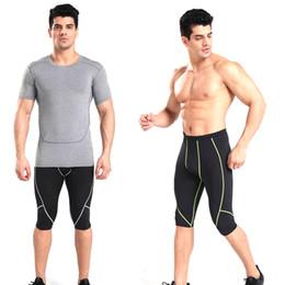 $enCountryForm.capitalKeyWord Australia - Running Shorts Skinny Men's Sports Gym Compression Wear Under Base Layer Shorts Pants Athletic Tights