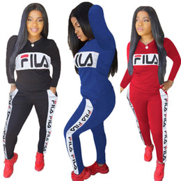 $enCountryForm.capitalKeyWord Australia - Brand Women Hoodie and Pants Two Piece Outfit Autumn Spring Long Sleeve Pullover Blouse + Leggings Pants Tracksuits Trendy Sportwear C82305