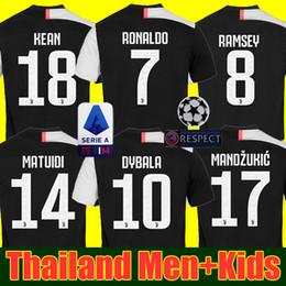 37d1df9dcb4 Thailand 19 20 Juventus soccer jersey football shirt 2019 2020 RONALDO  DYBALA MEN and kids boys youth sets uniforms DYBALA JUVENTUS SHIRTS