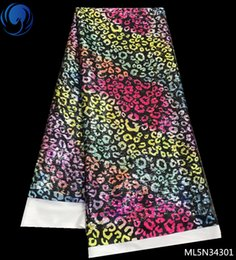 $enCountryForm.capitalKeyWord NZ - African Knitting Lace Fabric 2019 High Quality French leopard print Lace Fabrics For Wedding ML5N343