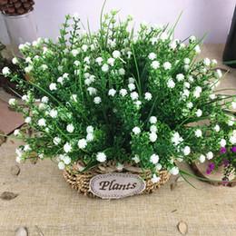 $enCountryForm.capitalKeyWord NZ - Small babysbreath bundle Plastic fake grass Artificial flowers home garden decoration fake plants plante artificielle Gypsophila