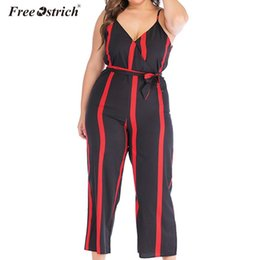 women casual jumpsuit romper Australia - Free Ostrich Women Ladies Summer Sleeveless Playsuit Long Pant Bodycon Solid Backless V Neck Jumpsuit Romper Trousers N30