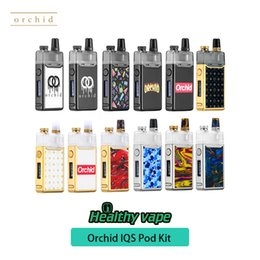 $enCountryForm.capitalKeyWord Australia - 100% original Orchid IQS Pod Kit 950mAh top with 3ml Orchid IQS Pod cartridge for MTL DL vaping