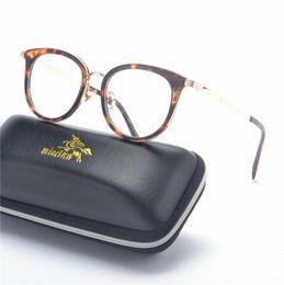 8cdd379a87b MINCL 2019 Women Glasses Frame Men Eyeglasses Frame Vintage Round Clear  Lens Glasses Optical leopard with box NX