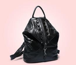 $enCountryForm.capitalKeyWord Australia - Backpack Designer 2019 Fashion Women's Ladies Black Red Backpack Bag Charm Free Shipping