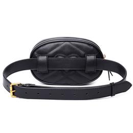 $enCountryForm.capitalKeyWord UK - Belt Bag Bum Bag Women Bags Waist Pack Famous Brand with logo Sac Banane Femme Women Fanny Pack PU Leather Cell Phone Pocket