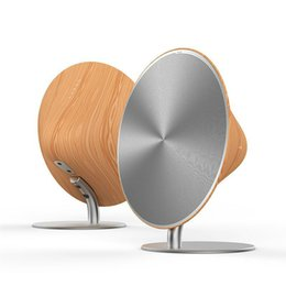 Portable wooden sPeakers online shopping - Wireless SOLO One Bluetooth Speaker Wooden Vintage Subwoofer Bluetooth Channel Music Player with Touch Surface For iphone XRS