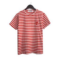 CDG juega la camisa de los hombres Summer Brand Top Camisas de manga corta diseñador White cinco puntas de la camisa Camisa de los hombres Camiseta de diseñador Camiseta de moda Camisetas en venta