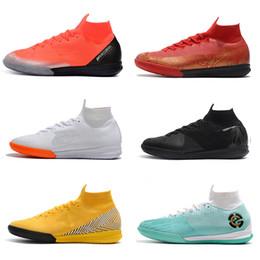 $enCountryForm.capitalKeyWord Australia - 2019 New Arrival Soccer Shoes Original Mercurial Superfly VI 360 Elite Neymar TF Football Boots SuperflyX 6 Elite TF Soccer Cleats Wholesale