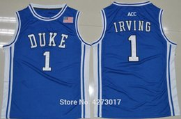 1 jersey Duke Blue Devils Top Jers Retro Basketball Jersey New Material  Top quality embroidery jersey Ncaa f63860a20