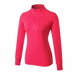 $enCountryForm.capitalKeyWord Australia - Women Running Jackets Long Sleeve Jogging Sweatshirt Ladies Yoga Sports Zipper Jacket Coat Fitness Gym Shirts Women's Hoodie 9821
