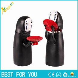 Coin Eating Bank Australia - Hot Sale New No-face Man Funny Money Box Spirited Away Coin Bank Special Children Musical Eat Coins Safe Money Electronic Cartoon Piggy Bank