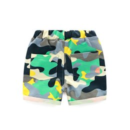 Chinese  2019 new hot summer boy shorts children's five pants summer casual baby children's baby camouflage pants manufacturers