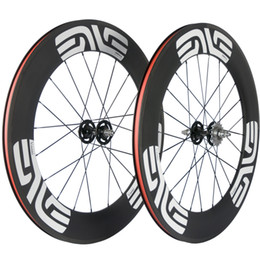 gear fix Australia - 700C A Pair Cycling Carbon Wheelset 88mm Fixed Gear Bike With 165-166 Hub Clincher Tubular Carbon Wheels