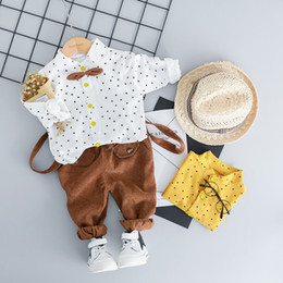 $enCountryForm.capitalKeyWord Australia - For Spring Fall Formal Newborn Baby Boy Clothes Outfits Party Costume Set Infant Baby Clothing Set One Year Birthday Suit Cloth J190520