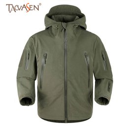 $enCountryForm.capitalKeyWord Australia - TACVASEN Softshell Jacket Men Army Tactical Fleece Jacket Multi-pocket Windproof Hiking Jackets Outdoor Sports Heated